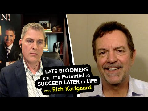 Late Bloomers and the Potential to Succeed Later in Life - Rich Karlgaard Mp3
