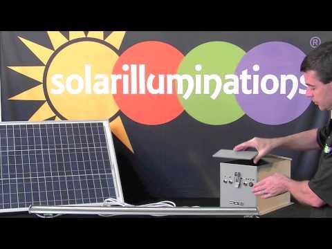 Solar Sign Light - Solar Illuminations FL15 Solar Light Bar System