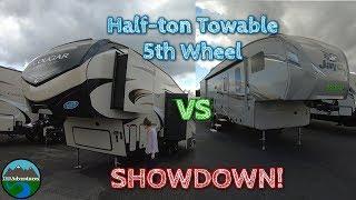 Half Ton Towable 5th Wheel Showdown || Jayco Eagle HT 29.5 BHDS || vs || Cougar Half-Ton 25RES