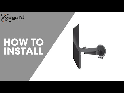 How To install NEXT 7356 | TV wall mounts | Vogel's