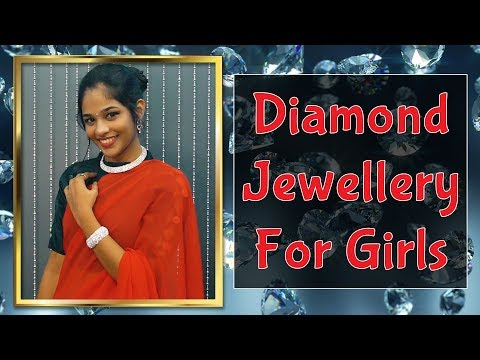 Diamond Jewellery For Girls | Indian Traditional Looks | Jewelry Lookbook | Being Woman
