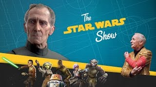 Re-creating Tarkin & Leia in Rogue One, Plus Star Wars Trivia...ON A ROLLERCOASTER!