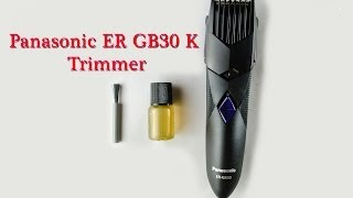 Panasonic ER GB30 K Trimmer (Black)