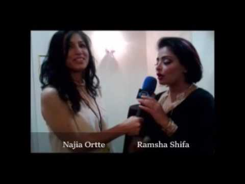 Ramsha Shifa with Najia Ortte singing Afghan music for The Silk Road Afghan Hour on IntenseDMV Radio