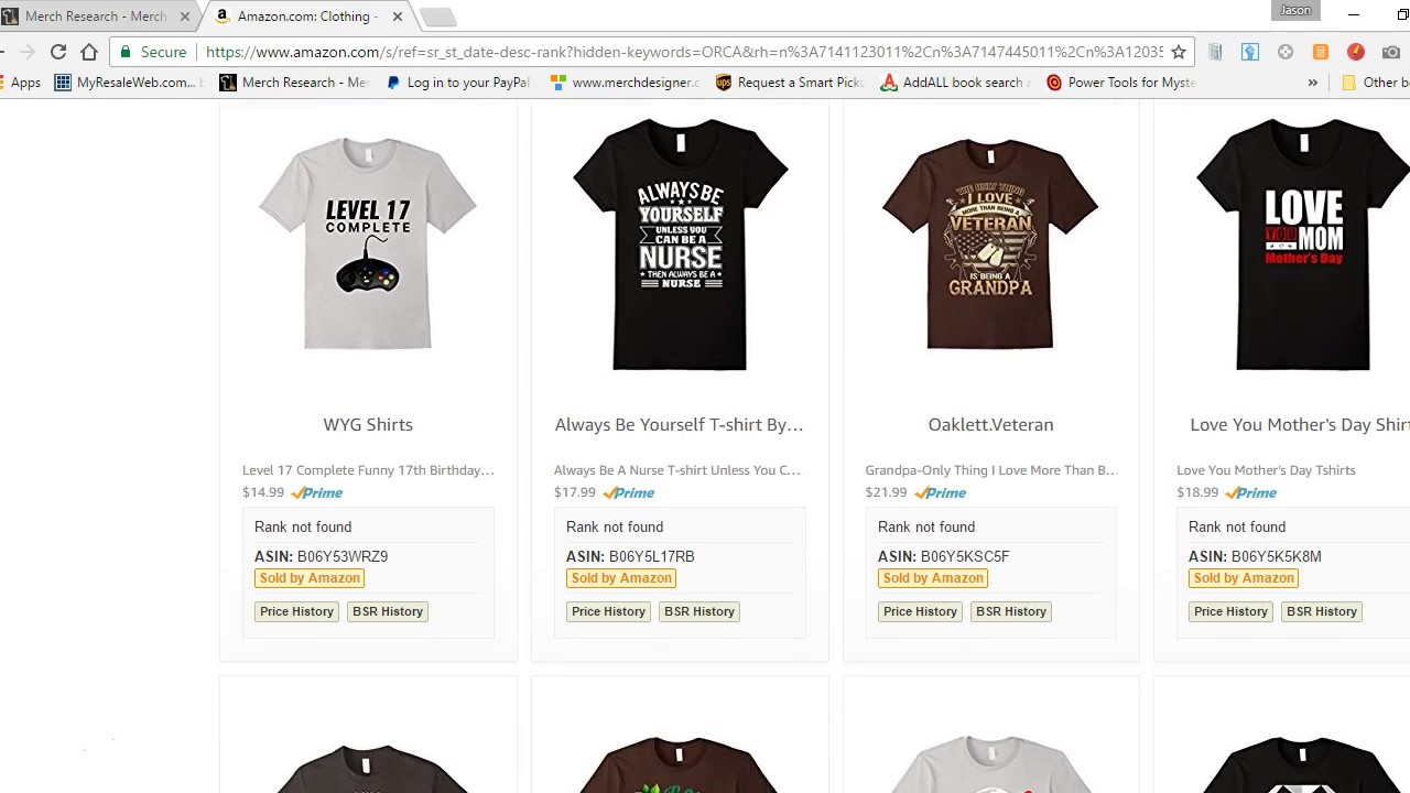09f727d6b709 Merch By Amazon Niche Research Made Easy - YouTube