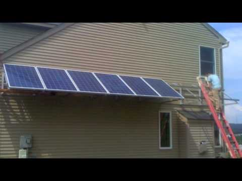 Sonic Solar Side Mount Canopy Youtube