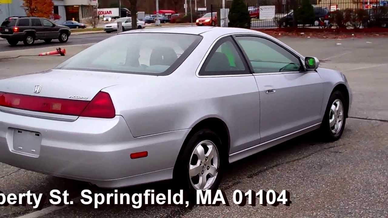 2002 Honda Accord Ex Coupe 2dr 2 3l Vtec 4cyl At Moonroof