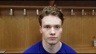 """""""НХЛ выше уровнем, чем молодежный чемпионат мира. Я хочу развиваться в """"Тампе"""" (интервью Сергачева)"""