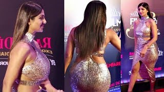 Shilpa Shetty Looking Stunning After Plastic Surgery At Filmfare Awards 2019