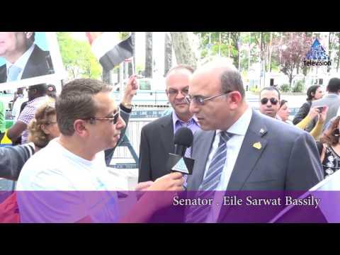 Senator Eile Bassily       hello egypt  T.V      New York