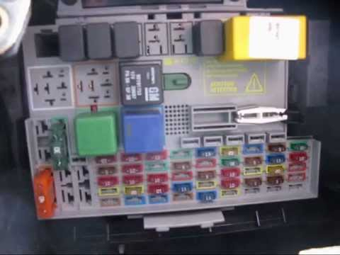 MKIV Astra 17 DTi Estate fuse box location  YouTube