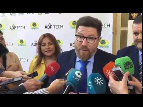 Declaraciones de Rodrigo Sánchez sobre internacionalización de empresas agroalimentarias andaluzas