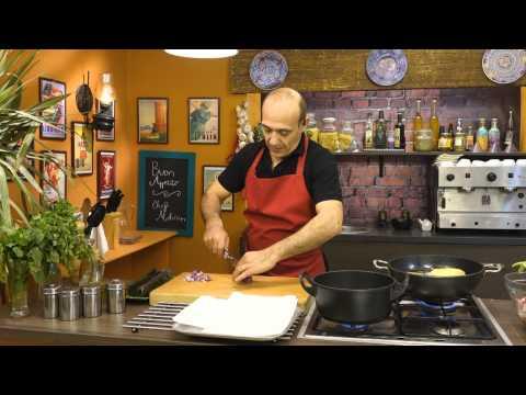 لحم بالطماطم والباذنجان والحمص وسلطة قرنبيط مع محسن عبد الفتاح فى بون ابتيتو (الجزء الأول)