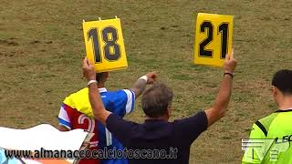 Serie D Girone E Follonica Gavorrano-Aglianese 2-2