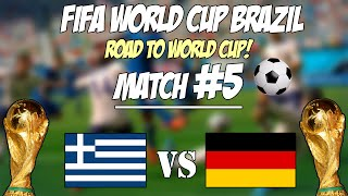 Σφύριξε το! - Fifa World Cup Online #5 - Ελλάδα vs Γερμανία