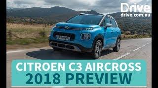 Citroen C3 Aircross 2018 Preview | Drive.com.au