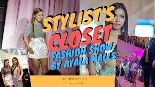 WALKING THE RUNWAY AT AYALA MALLS STYLIST's CLOSET | Twin Talk by Jas and Jen Sarmiento