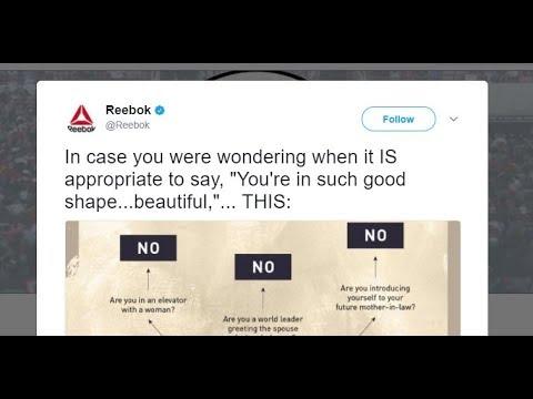 NEWS ALERT: Reebok Posts Anti-Trump Tweet