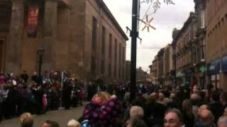 RAF Kinloss and Lossiemouth Parade Elgin 19 Feb 2011