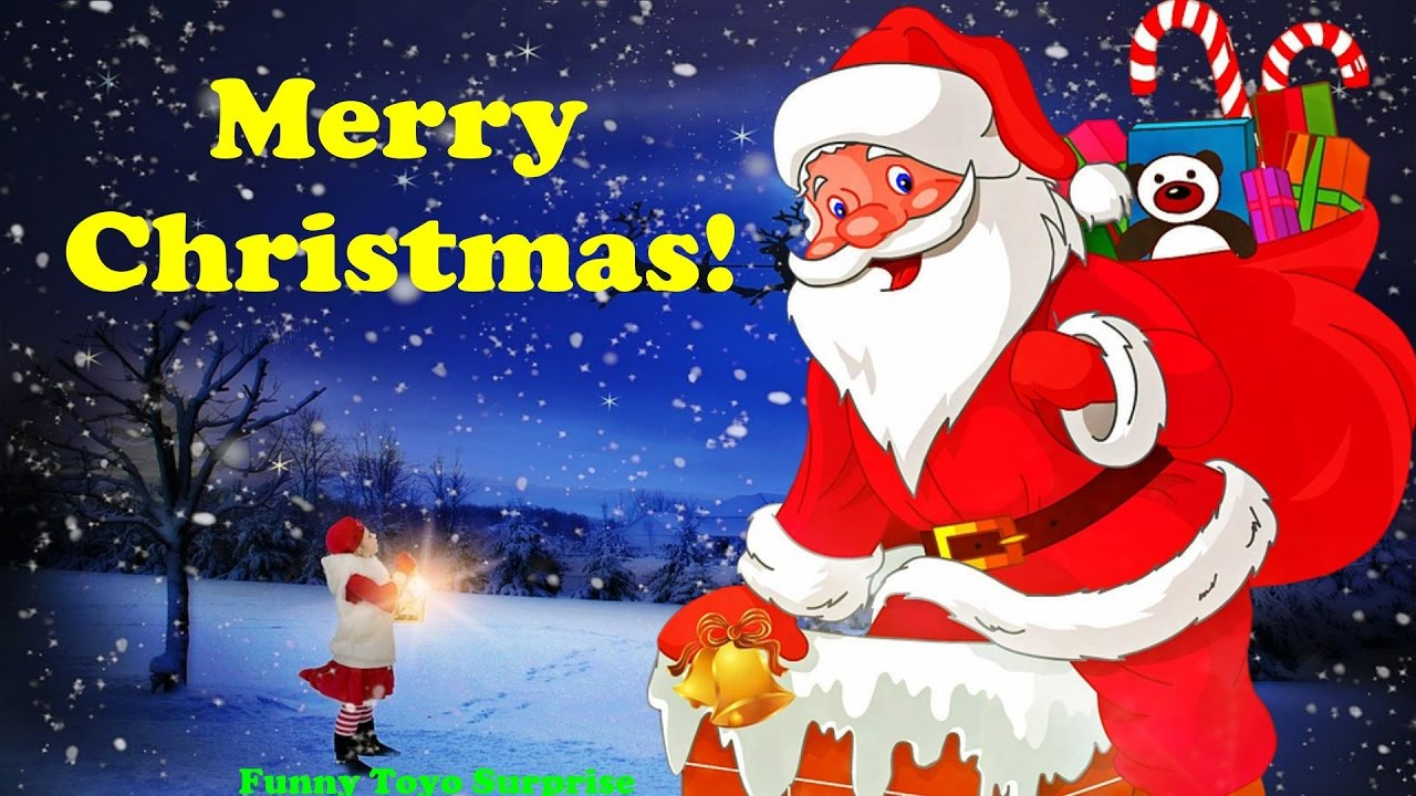 We wish you a Merry Christmas! Song Carol Cartoon Animation ...