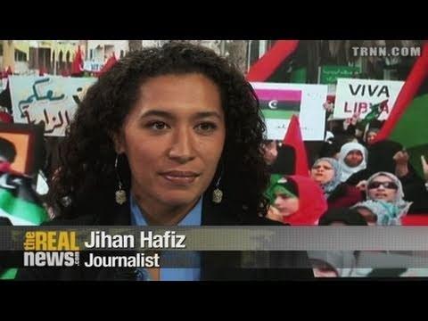 Jihan Hafiz On Reporting From Libya
