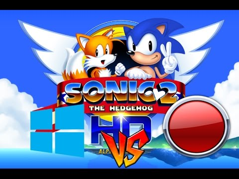 Sonic 2 HD WIndows Game DVR vs Action Quality Comparison