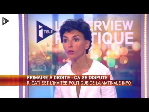 """Rachida Dati :""""Par conviction, évidemment je soutiens Nicolas Sarkozy"""""""