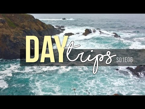 Day Trips // Fort Bragg, Glass Beach, and NorCal Coast // S01E06 Travel Vlog - Full Time RV