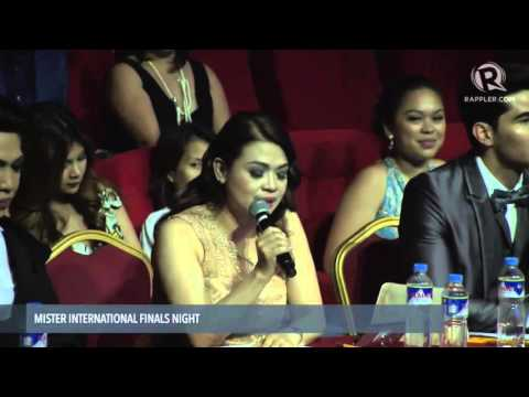 WATCH: 2015 Mr. International Top 5 and Q&A portion