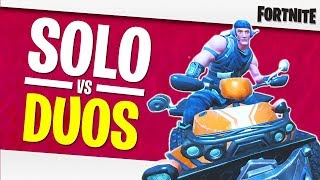 PASSING THE NEW BIKE OVER THE DUOS! FORTNITE GAMEPLAY