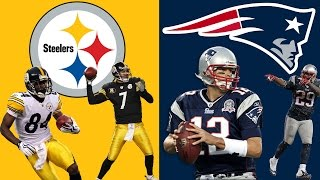 PITTSBURGH STEELERS VS NEW ENGLAND PATRIOTS PLAYOFF SIMULATION!! BLOW OUT!! (HIGHLIGHTS)