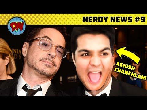 Ashish Chanchlani with Avengers, Black Widow Movie, Namor, Avengers 4 | Nerdy News #9