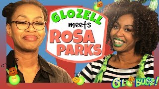 GloZell Meets Rosa Parks | Black History Month Videos | GloZell & the GloBugz