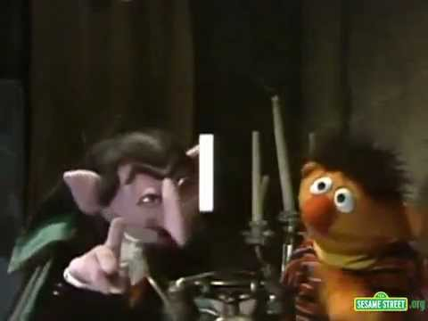 Classic Sesame Street - The Count Counts Telephone Rings (full version)