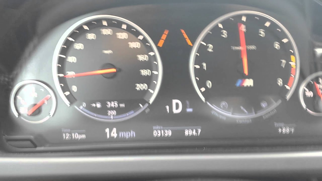 Stage 2 Dinan 2016 Bmw M6 0 60 In Efficient Comfort Mode 3 Qtr