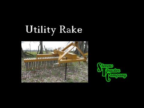 landscape rake youtube