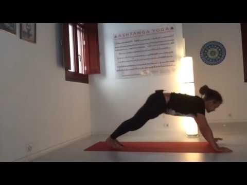 variando en surya namaskar a  ashtanga yoga  youtube
