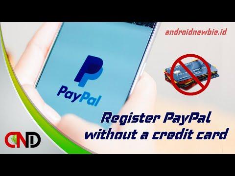 Cara membuat rekening Paypal tanpa verifikasi kartu kredit