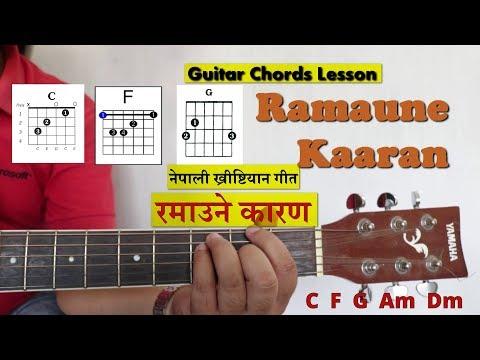 Ramaune Kaaran L Nepali Christian Song L Chords Lesson & Lyrics