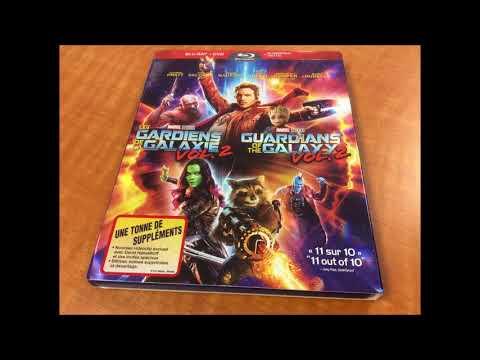 Critique du film Guardians of the Galaxy Vol. 2 en combo Blu-ray/DVD streaming vf
