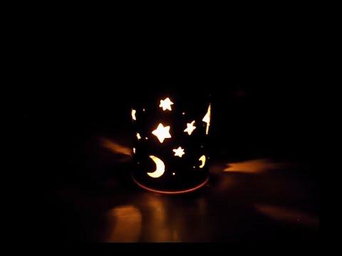 Como hacer una lampara para bebes f cil youtube - Lampara de noche para bebes ...