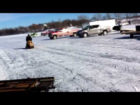 Heath's 1967 Fox Trac Snowmobile At Waconia 2014