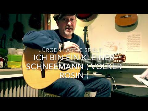 Ich bin ein kleiner Schneemann ( Volker Rosin ), hier gespielt von Jürgen Fastje