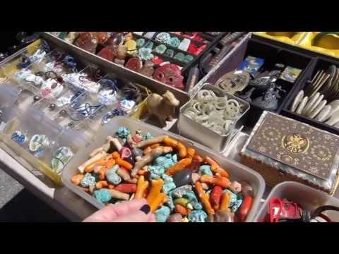 Нью-Йорк. Блошиный рынок 1. Фрики,оригинальные персонажи и что можно купить.