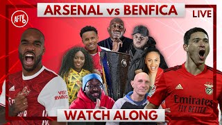 Arsenal vs Benfica | Watch Along Live