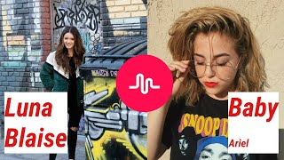 BABY ARIEL vs. LUNA BLAISE Musical.ly Compilation