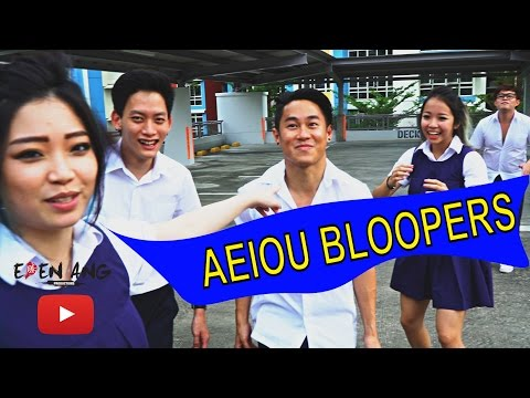 (Bloopers) Let's Play 90's l AEIOU | Eden Ang
