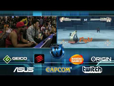 Naruto Shippuden: Ultimate Ninja Storm 4 - Mina Hokad VS. Afro Senju | Top 8 | WW Chicago 2016