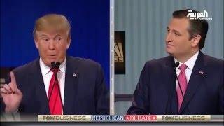 الدعايات التلفزيونية تمنح ترامب تفوقا ضد خصمه كروز