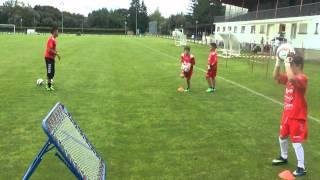 COACH FOOTBALL AMAZING SOCCER GOALKEEPER TRAINING